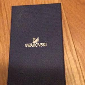 Jewelry - Swarovski Crystal Bracelet - suede